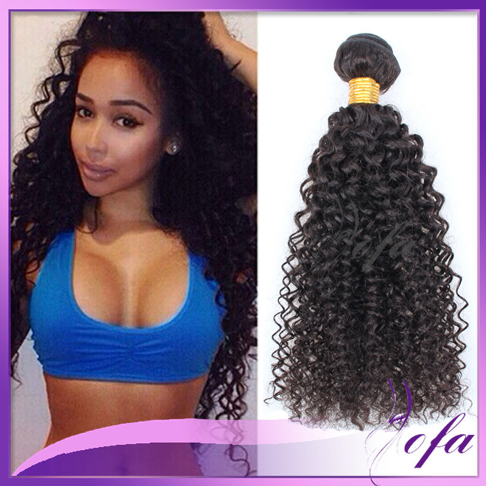 Afro Curly Hair 4 Bundles Brazilian Tight Curly Virgin