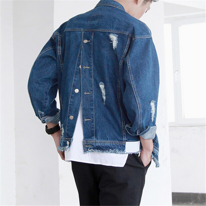 Popular Cool Design Ripped Jeans Jacket-Buy Cheap Cool Design ...