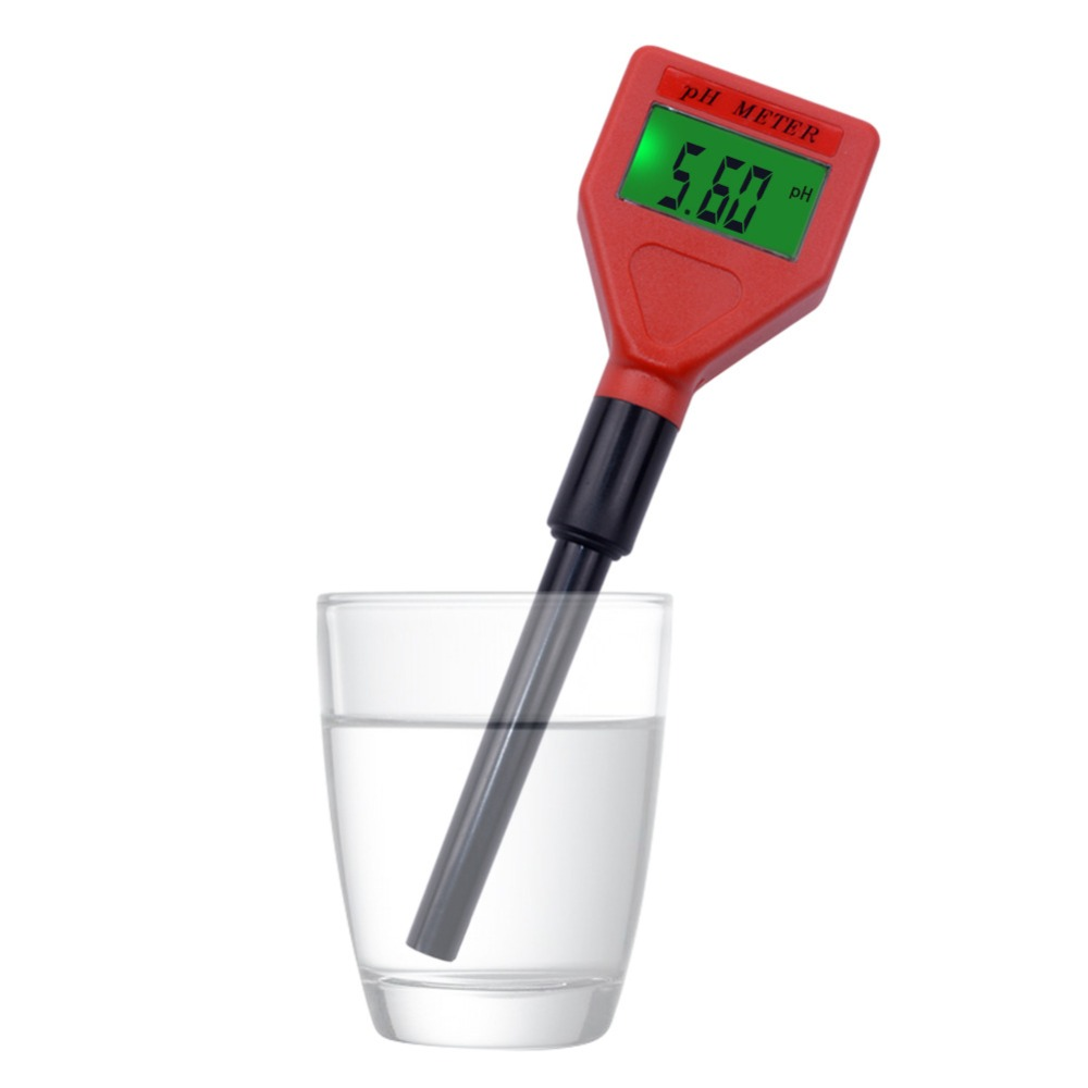 Portable pen high precision digital acidity meter ph meter test pen not include battery