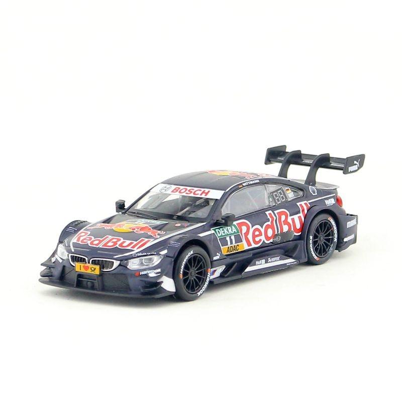 RMZ Cidade/Escala 1:43/Diecast Toy Modelo/DTM M4 Super Sport Car Racing/Coleção de Ensino/ presente Para As Crianças