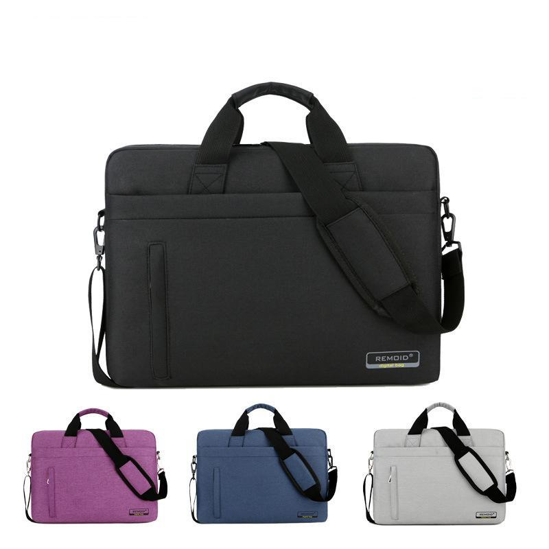 Waterproof Laptop Bag 15.6 inch 13 14 Business Briefcase with a Single Shoulder Notebook Shoulder bag for men and women