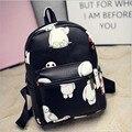 2016 Baymax backpacks for teenage girls women backpack ladies PU leather printing backpack school bags for teenagers