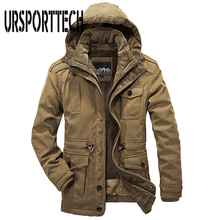Plus Size L-4XL Men Warm Parkas 2017 New Brand Top Quality H