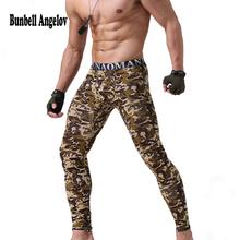 Bunbell Angelov Winter Thermal Underwear Men Long Johns Cotton Men Long Johns Underpants Lucky John Men