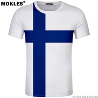 FINLAND t shirt free custom name number fin t shirt nation flag fi finnish swedish suomi print college photo diy country clothes