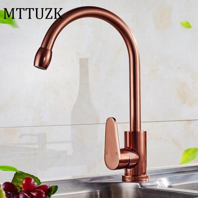 Best Kitchen Sink Faucets: MTTUZK Free Shipping Best Quality Space Aluminum Basin