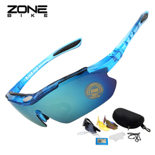 купить ZONEBIKE Polarized Sunglasses Cycling Glasses Bike Eyewear Bicycle Goggles Men Women Oculos Ciclismo Gafas De Sol Lunette Velo дешево