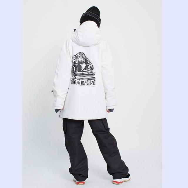 New Pullover Ski Jacket men's winter warm and windproof waterproof snowboard wear ski equipment  black overall snow jackets  -30