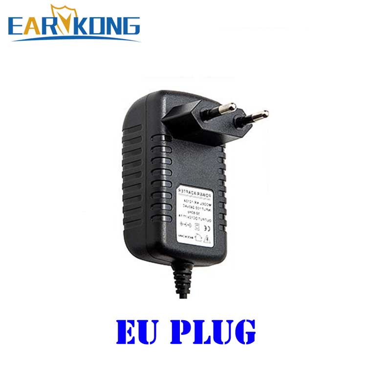 12V Power Adapter For Alarm Host Wired Detector Beam Detector