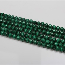 Baihande 6 8 10mm Natural AAA Round Malachite Stone Green Gemstone Loose Beads For Necklace Bracelet DIY Jewelry Making 15inch