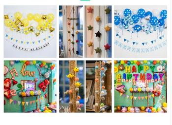5pcs Aluminum Foil Inflatable Flower Balloons Kid Children Balloon Toy Air Happy Birthday Wedding Decoration 2020 entrance decoration inflatable flower archway