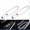 4 шт./лот Акриловые M power perfermance окна Автомобиля украшение кнопка наклейка для BMW 1 3 серии 320Li 328i 118i 316