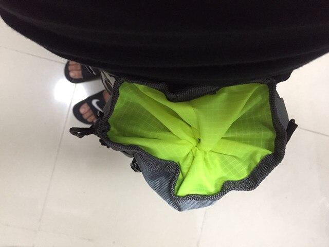 2017 New Dog Training Snack Bag Thick Nylon Pet Dog Waist Belt Bag Snack Food Carrier Feed Pocket Shrinkable Dog Bag