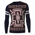 New winter men's fashion urban deer knit sweater hedging Men's clothing brand Casual  Slim Fit Pullovers Wool Sweaters