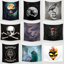 Hot sale halloween large tapestries wall hanging tapestry home decoration  1750mm*1750mm