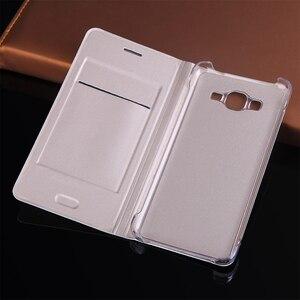 Image 2 - Leather Wallet Case Flip Cover For Samsung Galaxy Grand Prime SM G530 G531 G530H G531H G531F SM G530H Phone Case Card Holder