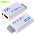 Wii To HDMI adapter 3.5mm Audio Video Output Wii2HDMI Upscaling Converter for Nitendo Wii console to 1080P HDTV Monitor