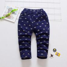 Baby Cotton Car Print Trousers