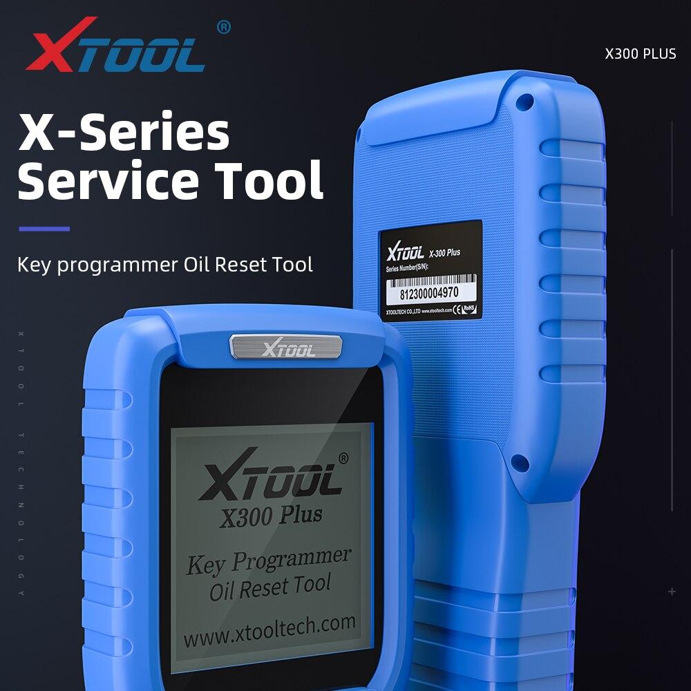 Original XTOOL X300 OBD2 X300 Plus Auto Programador Chave Diagnóstico Do Motor Profissional Com a Função Especial de Atualização Online Grátis