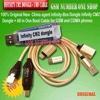 China agente infinity-box dongle infinity cm2 caixa dongle + tudo em um cabo de inicialização para gsm e telefones cdma frete grátis
