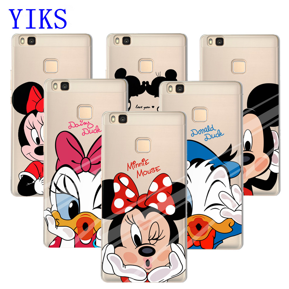coque minnie huawei p8