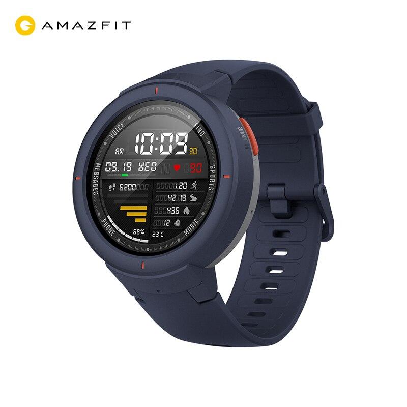 Montre intelligente Amazfit poe (écran 1.3 ''AMOLED, Android, 11 ) expédition à partir de 2 jours, la garantie officielle