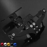 Universal CNC Motorcycle License Plate Bracket Licence Plate Holder For HONDA CBR600 F4i CBR F4i sport CBR 600 F2 F3 F4 F4i