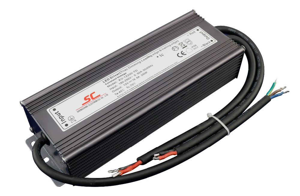 KVP-12200-TD;12V/200W triac dimmable constant voltage led driver,AC90-130V/AC170-265V input thomas earnshaw часы thomas earnshaw es 8062 01 коллекция longitude