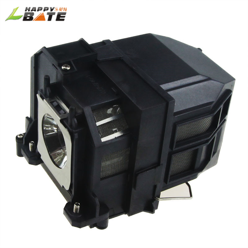 HAPPYBATE V13h010l71 Projector Lamp with Housing for EB-470 EB-475W EB-1410WI EB-475W EB-480 EB-485WI BrightLink 475Wi 480I elplp73 projector lamp for eb 8150nl eb z10000 eb z1000nl eb z10005 eb z1000rnl z8150 z8250wnl z8350w with housing happybate