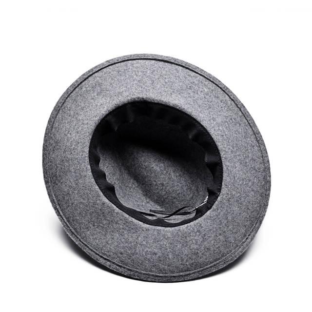 e954d0e155b ULGEN Jewelry hat Vintage Bohemia women Winter hat wool mens fedora hat  womens cowboy panama hats