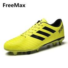 Zapatos del estudiante de los hombres al aire libre largos Spikes TF FG  atlético fútbol impermeable zapatillas de deporte casual. b8544c8eea91e