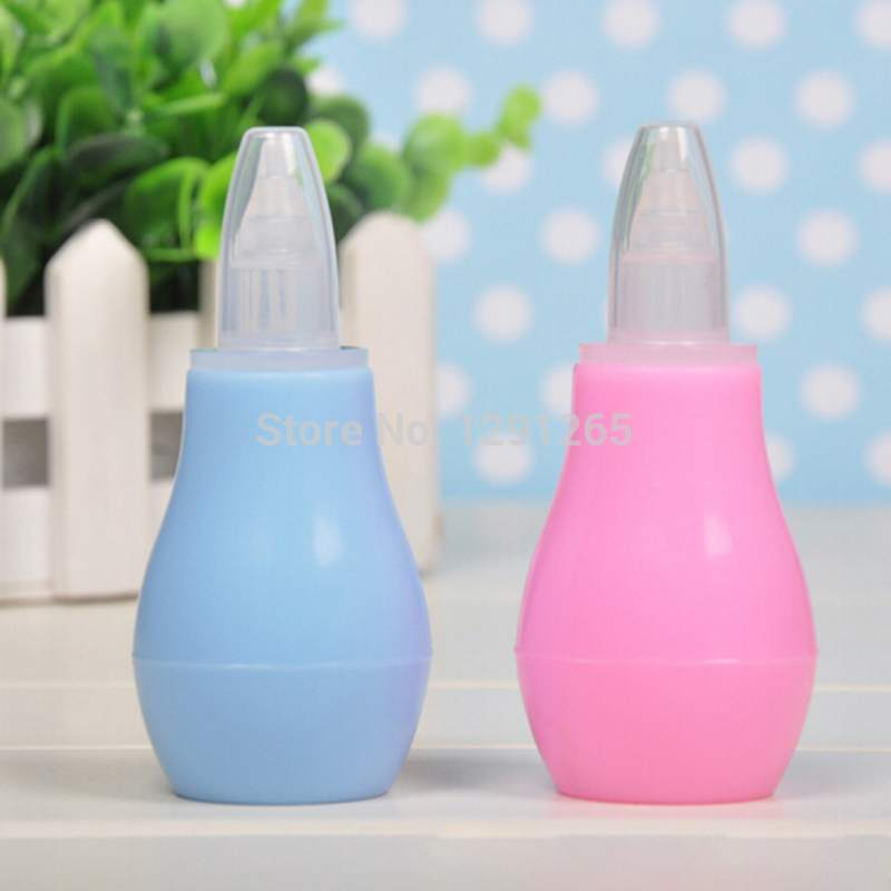 Silicone Baby Children Nasal Aspirator Baby Nose Cleaner Infant Snot Vacuum Sucker Baby Nose Aspirator