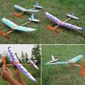 Moda Novela Jet Avión Planeador modelo de avión Niños juguetes de aprendizaje automático Juguetes Ciencia Asamblea plane juguetes Educativos #45