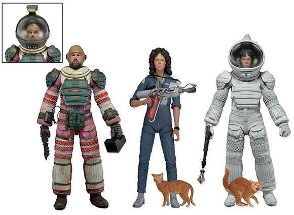 NECA 51380 Alien Dallas Ripley with Compression Suit Jumpsuit PVC Action Figure Collectible Model Toys KT217 цена и фото