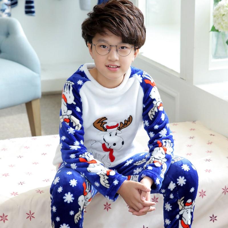 f00032cb01 Winter Loungewear Cozy Pajamas for Boys Fleece Homewear Pyjama Set Children  Extreme Soft Pjs Girls Flannel Sleepwear Boys-in Pajama Sets from Mother    Kids ...