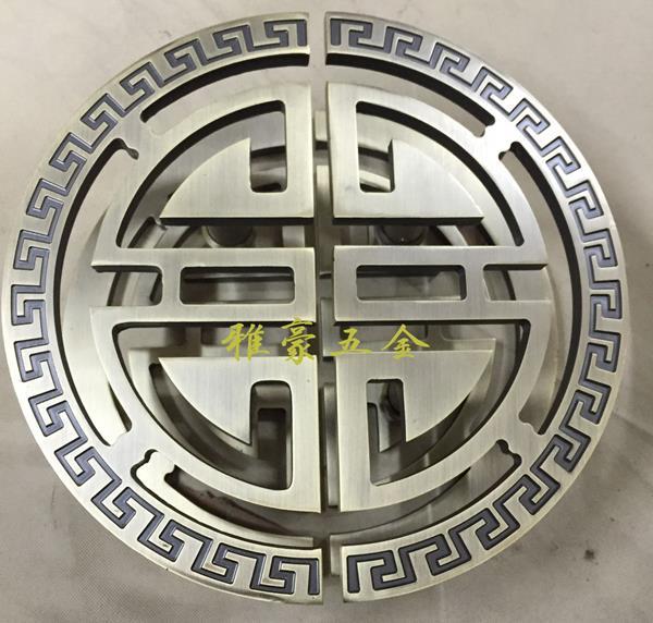 The Bronze Sculpture Of Chinese Antique Door Handle Half Glass Door Handle  Door Handle Half Round The Club In Door Handles From Home Improvement On ...
