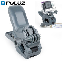 цена на PULUZ Jaws Flex Clamp Mount with Buckle & Thumb Screw for GoPro, Other Sport Cameras