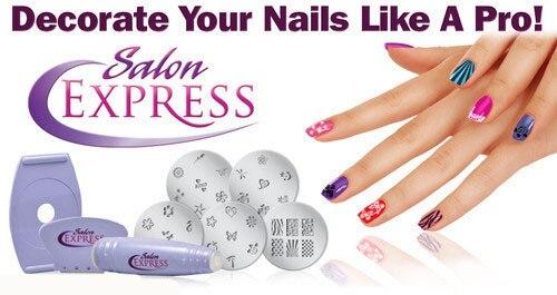Professional Salon Home Nail Art Equipment Stamp Tool Polish DIY Stamping Design Decoration Kit Set Women