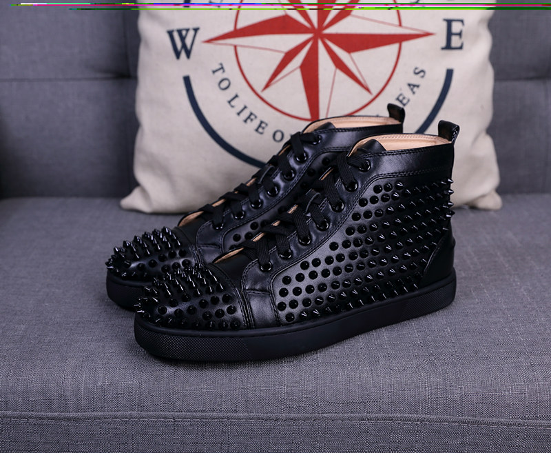 7e611690c36c 2019 Men Women Designer Brand Red Bottom Shoes Fashion Spikes ...