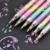 Nouvelle-Coréen Papeterie 6 Pcs Mignon Conception D'encre 6 Couleurs Surligneur Stylo Marqueur Papeterie Point Stylo D'écriture Colorée Fournitures