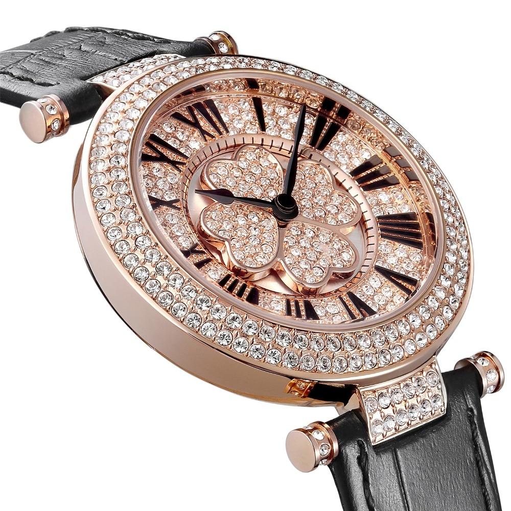 Nowości Austriacki zegarek kwarcowy Crystal BP Luksusowy zegarek - Zegarki damskie - Zdjęcie 4