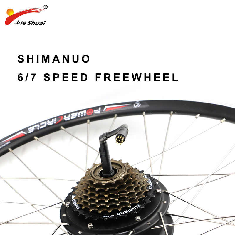 """36V 48V Electric Bicycle Kit Electric Bike Conversion Kit without Battery 250W 350W 500W for 20"""" 26"""" 700C Rear Hub Wheel Motor"""