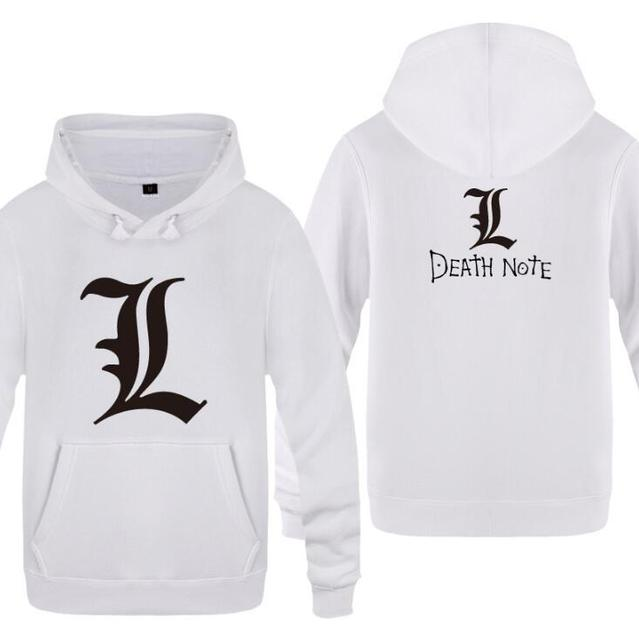Death Note Pullover Clothing Casual Sweatshirts Hoodie