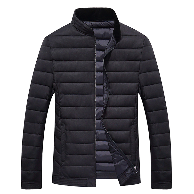 4XL-8XL Men Big Size Cotton Padded Jacket Autumn Winter Male Casual Solid Parka Thicken Warm Windbreak Outwear Varsity Coat 8627 bert pulitzer men s big textured solid sport coat