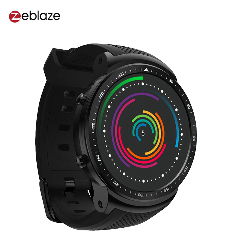 Zeblaze Thor PRO 3G GPS Smart Watch Phone 1.53 IPS Android 5.1 1GB 16GB BT4.0 Sport Smartwatch 2.0MP Camera Heart Rate Monitor s6 5 ips hd mtk6589 smartphone 1gb 16gb 13 0mp android 4 2 3g gps