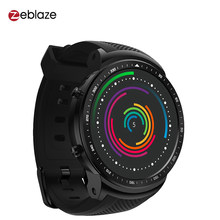 "Zeblaze Thor PRO 3G GPS Smart Watch Phone 1.53"" IPS Android 5.1 1GB 16GB BT4.0 Sport Smartwatch 2.0MP Camera Heart Rate Monitor(China)"