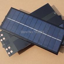 Высокое качество! Мини солнечная батарея поликристаллических солнечных модулей Панели солнечные 2,5 W 6V Diy солнечный Зарядное устройство 213*92*3 мм