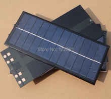 High Quality! Mini  Solar Cell Polycrystalline Solar Module Solar Panel 2.5W 6V Diy Solar Charger 213*92*3MM  Free Shipping