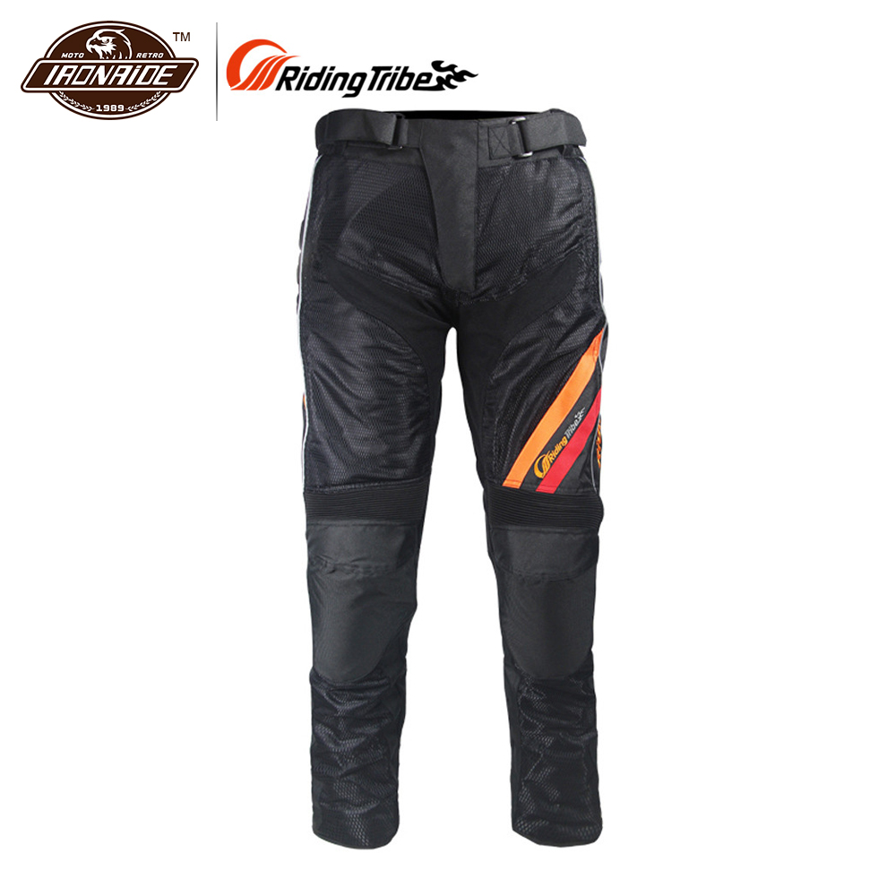 Riding Tribe Summer Motorcycle Motocross Off-road Racing Pants Riding Pants Breathable Mesh Durable Motorcycle Cycling Pants Men riding tribe summer motorcycle pants jeans racing moto armor motocross mx pants off road knee protector jeans hp 05