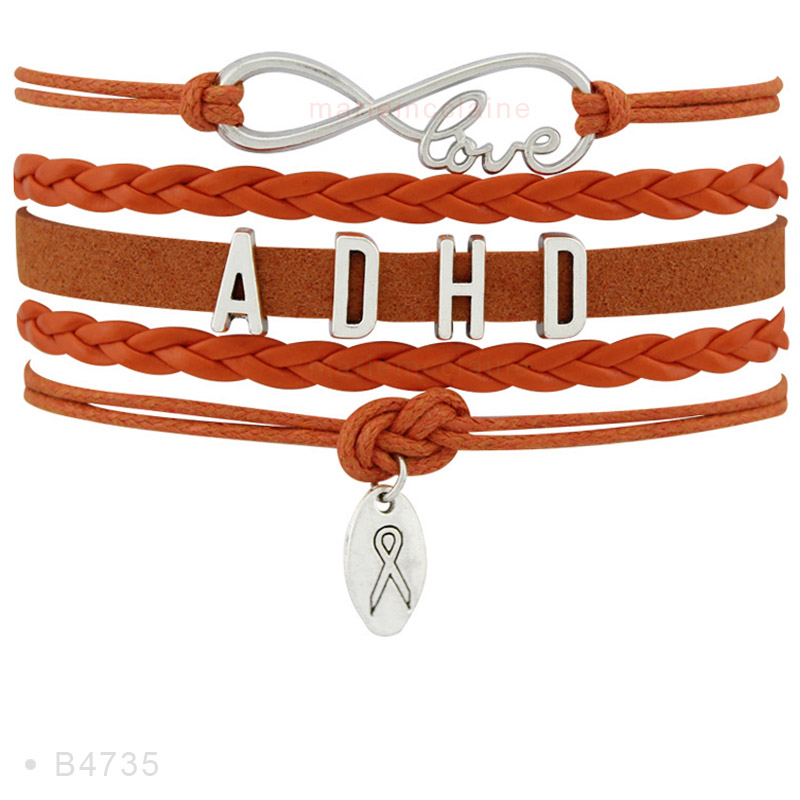 Spd Apraxia Adhd Aids Leukemia Als Ms Multiple Amyotrophic Lateral Sclerosis Alzheimer Alz Warrior Mom Awareness Bracelets In Charm From Jewelry